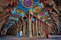 Sri Meenakshi Temple, the largest Hindu temple in South India. India, Tamil Nadu, Madurai. (/Julien Garcia)