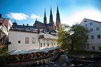 Uppsala Sweden,Cathedral,Fyresån.