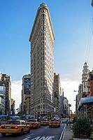 Flatiron Building, Manhattan, New York City, New York, USA, PublicGround