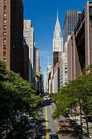 Midtown, Manhattan, with view on Chrysler Building, New York City, New York, USA, PublicGround
