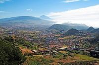 View of San Cristóbal de La Laguna Tenerife island