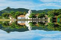 Nossa Senhora das Dores Chapel, Paraty, Rio de Janeiro state, Brazil.