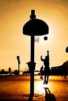 Sunset Basketball.