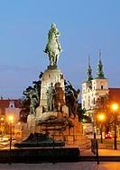 Grunwald Monument, Krakow, Poland.