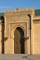Mausoleum of Mohamed V, Rabat, Morocco.