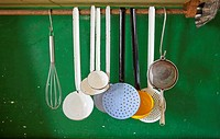Historical culinary utensils, Germany.