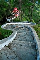 Kasar Devi Temple, Almora, Uttarakhand, India.