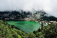 Naini Lake, Nainital, Uttarakhand, India.
