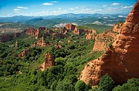 Las Médulas, Province of Leon, Castile and Leon, Spain.