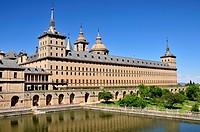 Monastery. San Lorenzo de El Escorial, Madrid. Spain.