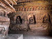 The Yungang Grottoes (Wuzhoushan Grottoes in ancient time) are ancient Chinese Buddhist temple grottoes near the city of Datong in the province of Sha...