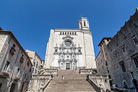 Cathedral of Girona,catalonia,spain.