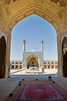 Iran, Isfahan, old friday mosque.