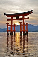 Itsukushima Shinto Shrine on the Island of ´Miyajima´. Japan
