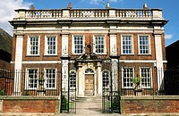 Fydell House, home of Thomas Fydell, in the centre of the Lincolnshire town of Boston, England, UK.