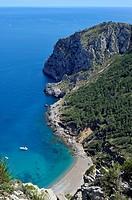 Cap de Menorca, Mediterranean Sea, Islands, Majorca, Spain.