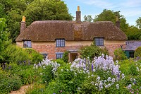 Thomas Hardy´s Cottage, Dorset, United Kingdom.