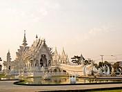 Wat Rong Khun in Chiang Rai, Thailand.