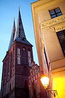 St. Nicholas Church, Nicholas Quarter, Mitte, Central Berlin, Berlin, Germany, Europe.