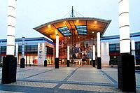 Europe, France, Nord pas de Calais, Calais shopping mall.