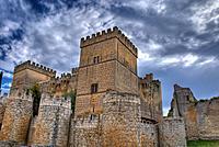 Castle of Ampudia (15th Century). Ampudia. Palencia Province. Castilla y León. Spain.
