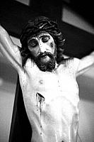 Jesus on the cross.