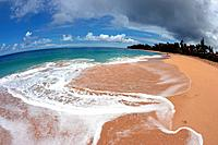 Kee Beach, Kauai, Hawaii, USA.