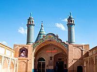 Imamzadeh-ye Sultan Mir Ahmad shrine, Kashan, Iran.