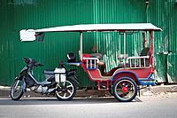 Tuk-Tuk in Phnom Penh, Cambodia.