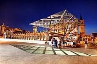 Caixa Forum (Casaramona old factory), by Josep Puig i Cadafalch, Arata Isozaki, and others. Barcelona.