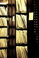 Vinyl records shop. chicago.