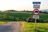 Country Road. St. Ulrich im Mühlkreis. Upper Austria. Austria.