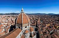 Basilica di Santa Maria del Fiore in Florence, Italy.