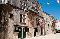 Town Museum, Old Town, Korcula, Croatia.
