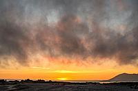 sunset on the Hesquiat Peninsula, Vancouver Island, BC, Canada.