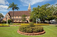 Christ Church, Anglican Church, Bundaberg, Queensland, Australia.