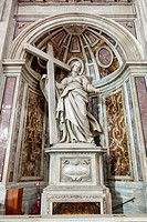 Shrine to Saint Helena in St. Peter's Basilica.