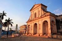 Trinidad church, Trinidad, Cuba.