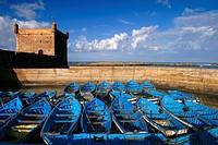 Essaouira Port Morocco.