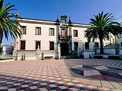 City Hall in Valverde, Hierro, Canary Islands, Spain.