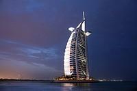 Hotel Burj Al Arab. Dubai. UAE.