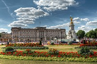Buckingham Palace and Victoria Memorial London, United Kingdom.