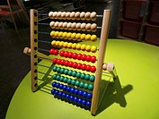 Abacus in furniture shop