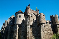 Gravensteen (Castle of the Counts). Ghent, West Flanders, Belgium.