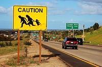 Border Crossing Warning.