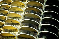 Marina City Complex, Chicago, IL.
