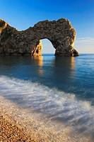 Durdle Door, Dorset, England.