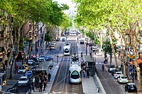 Streets in Lyon, , Rhone Alps, France, Europe