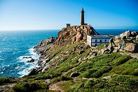 Cape Vilano in Camariñas. Coast of Death. A Coruña. Galicia. Spain. Europe