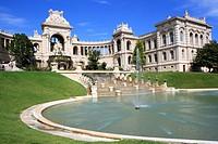 Longchamp Palace, Marseille, Provence, France.